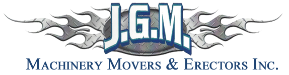 JGM Machinery Movers & Erectors Inc., Logo